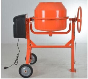 CE approved mini electric portable cement concrete mixer for 120L