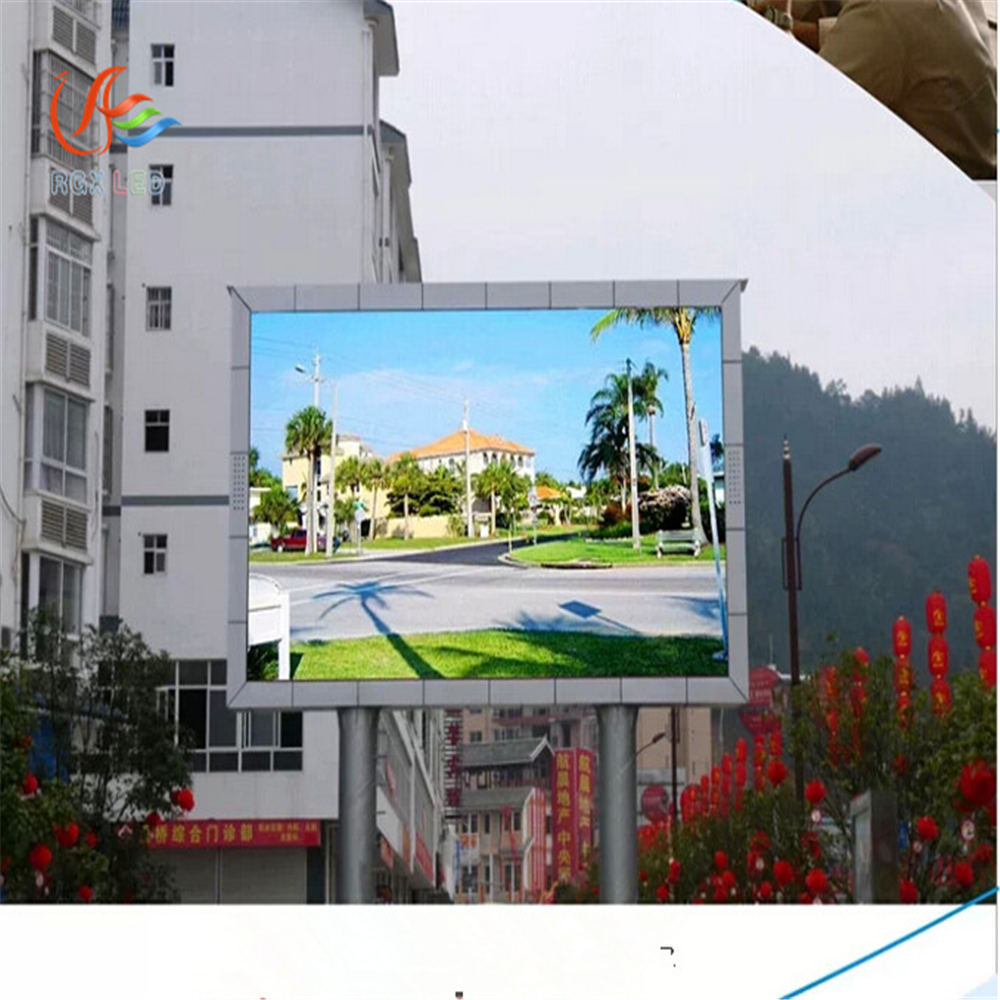 RGX p5 p6 smd indoor outdoor p10 p5 rental module led taxi top advertising display / led taxi roof signs
