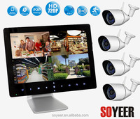 4Ch Wireless Network Cctv Dvr Mini Bluetooth Wireless Camera Soyeer Sly092-C094 9 Inch H.264 Cctv 4Ch Dvr Cms Free Software