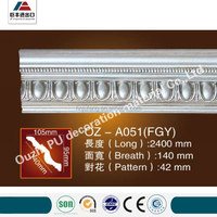 China factory price PU design crown molding