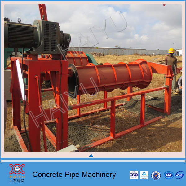 Africa precast concrete pipe machinery for drainage and water supply