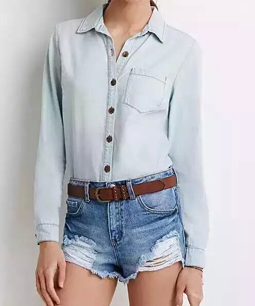 Closeout Plain Long Sleeves Unique Nice Cheap Online Cool Button Down Shirts