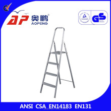 4 step stool ladder steel adjustable step stool AP-1314
