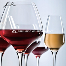china Wholesal bulk luxury red wine glass cup crystal glassware