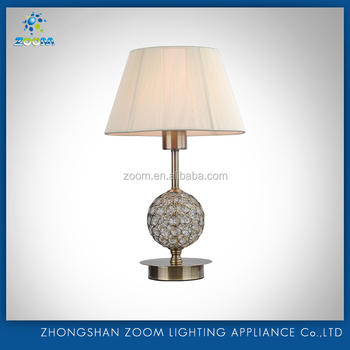 Home decoration new design fashion bedside table lamp for bedroom