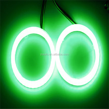 Auto LED 80mm RGB Angel Eyes With Remote Control Color Change Angel Eye Halo Rings Headlight