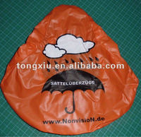 Promotional Polyester Bike Seat Covers manufactured from 190T polyester, bike saddle covers