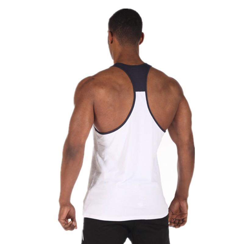 Aptitud 2016 algodón gimnasio tank top men camisetas Sin