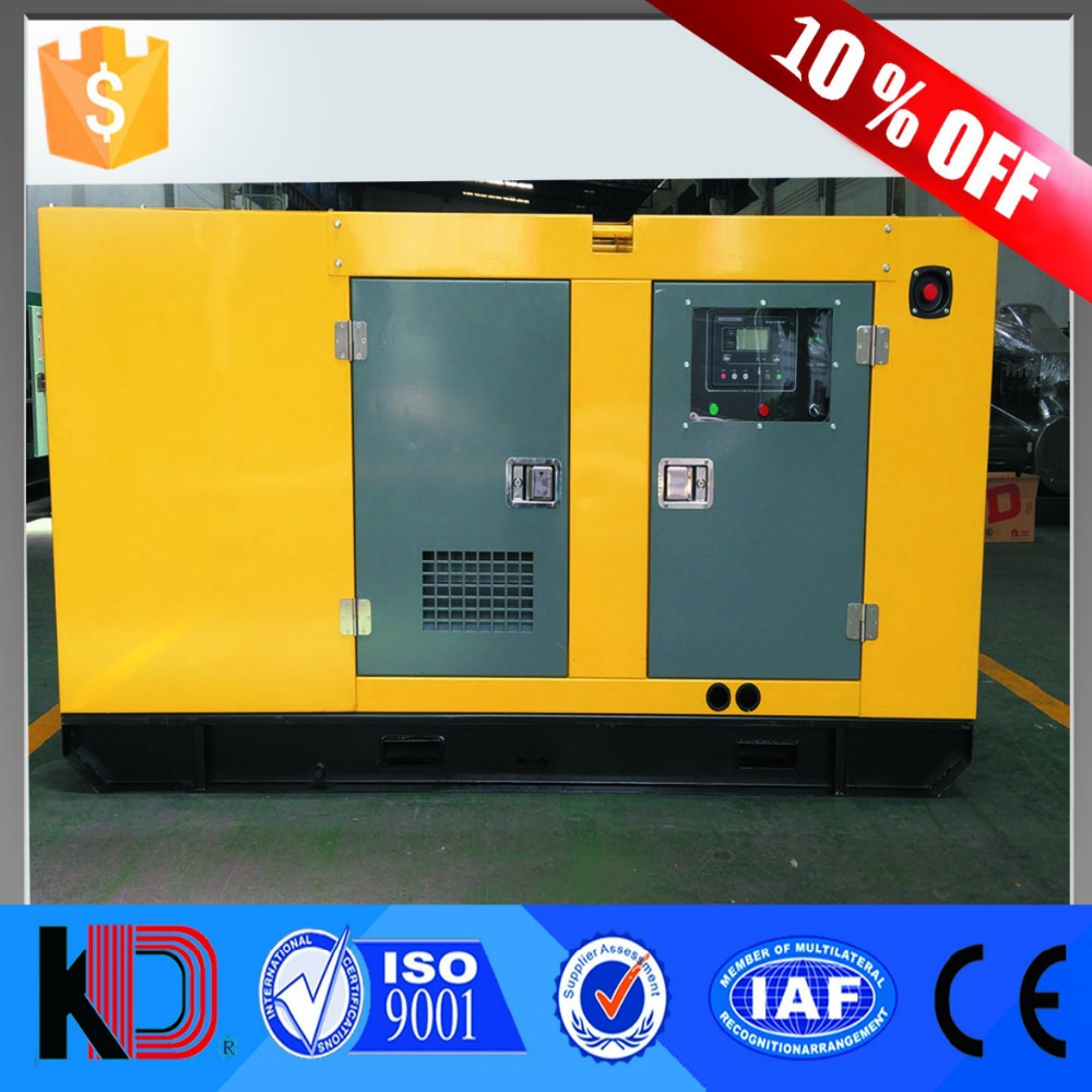 10% Off! Chinese Original Brand Best Quality and Reasonable Price 30kw 37.5kva Silent Diesel Generator with WEICHAI Engine