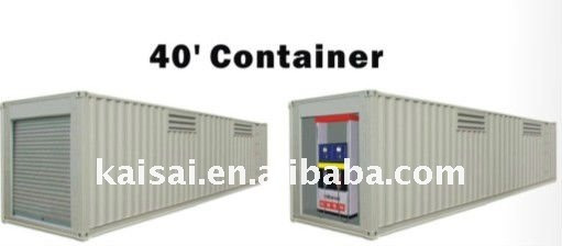 20' Container 2 wall layer dolly oil station