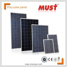 MUST Poly PV panel/250 watt solar panels, high quality 250W Poly solar panels in stock
