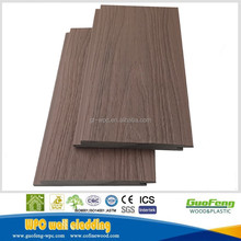 2018 waterproof exterior wall cladding wood plastic composite