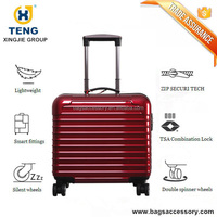 Small Trolley Bag with Spinner Wheels & Aluminum Handle