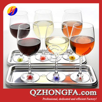 2014 China Manufacture Silicone Wine Glass Charms