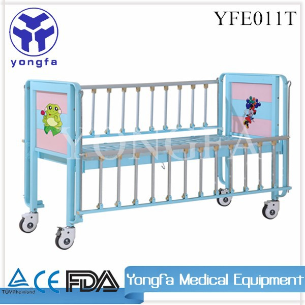 YFE011T Hospital cartoon Bed For Children