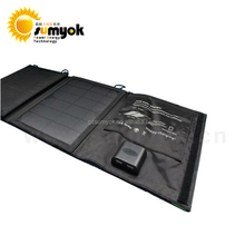 New Design 2018 15W portable window solar power bank charger waterproof