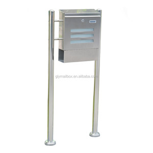 Die Casting Stainless Steel Free Standing Commercial Mailboxes For Sale