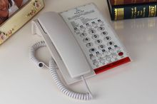 Single line hotel phone with bell service button hotel phone manufacturers