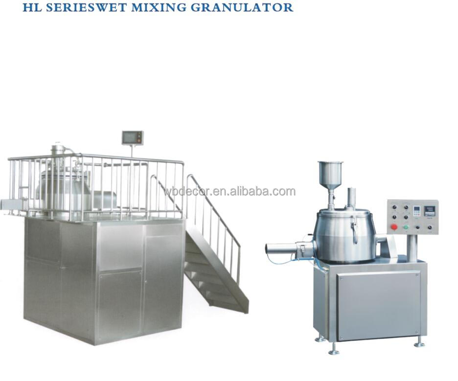 Fluid Bed Dryer HL-100L Series Wet Mixing Granulator Manufacture Machine