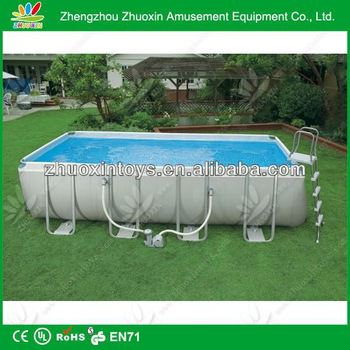 Hot selling above ground mobile swimming pool buy - How long after shocking pool can i swim ...
