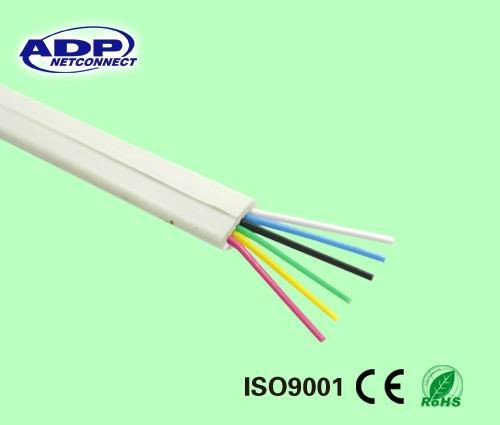 High quality 2 /4/ 6/ 8 core best price flat indoor telephone cable