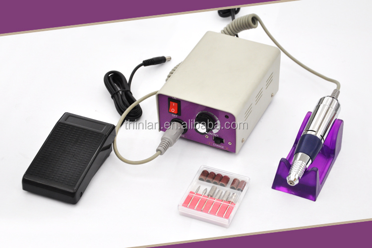 Shipping from china beauty nail polisher 35000rpm manicure drill machine professional electric nail drill strong 90 nail drill