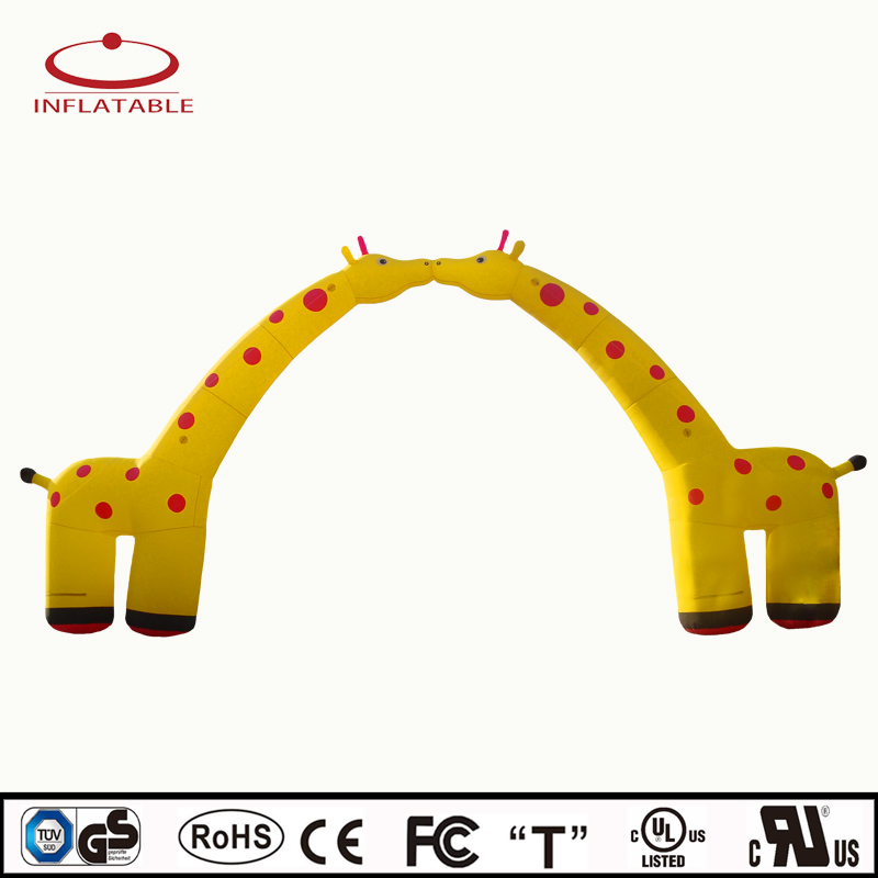 outdoor event inflatable animal decoration arch for promotion