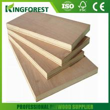2mm to 30mm 3ft x 6ft poplar core faced plywood sheets with great price