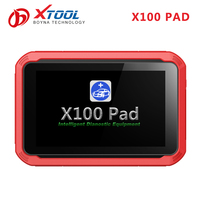 Vehicle key programming training and Oil Service Light Resetting of smart tablet key programmer Xtool X100 Pad for toyota