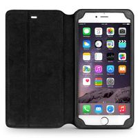 QIALINO Elegant Top Quality Oem Hand Maded Leather Case For Iphone 6 Cell Phone