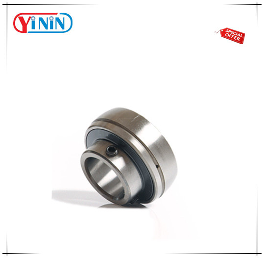 Stainless steel/Chrome steel SB 205 pillow block insert bearing