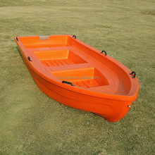 Rugged Ship Plastic flat bottom plastic boat for sale with CE certificate
