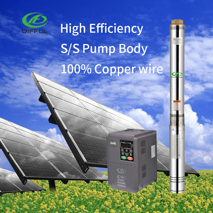 2hp single phase well water submersible pump specification