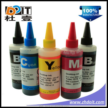 pgi150 cli151 desktop universal dye ink for canon MG6310