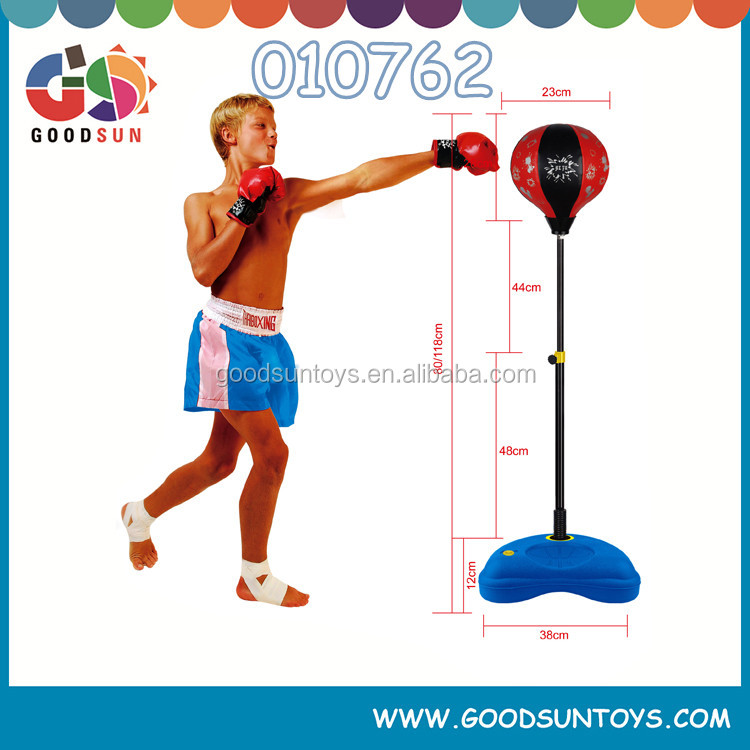 Hot selling indoor sport set boxing set with gloves for kids