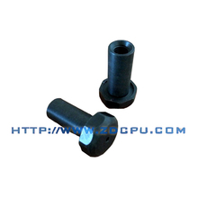 Customized shock resistant plastic cap fittings for pipe