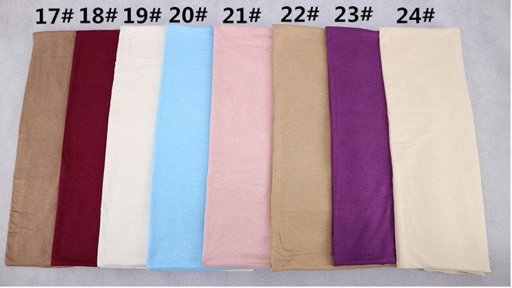high quality plain cotton jersey hijab soft material scarf many color can choose women shawls factory sale 46 colors in stock