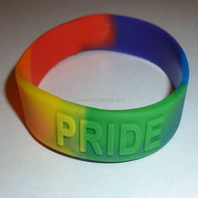 Gay Lesbian Silicone Embossed Bracelet Band *NEW* 12 x One Direction Wholesale Silicone Wristband