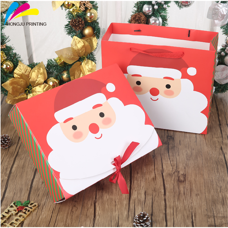 custom logos cheap Fancy Christmas Gift Box& Decorative Gift Box OEM