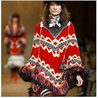 2014 new arrival hot-selling European and American retro style high-end sweater designs for women
