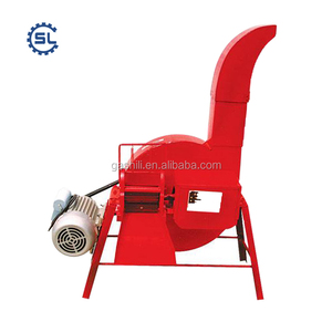 Small type low energy High efficient electric-driven corn stalk hay slicer