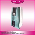 Whole sale printed Stand up coffee bag with zip top /coffee package bag