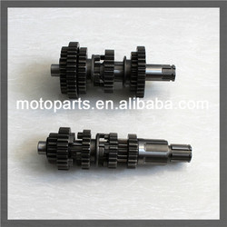 Brand New CG125 gear Shaft iron Pinion motorcycle