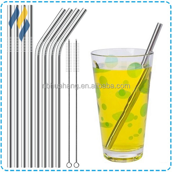 High Quality Drinking Straw,Metal Straws,Stainless Steel long Straws