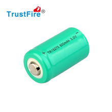 TrustFire 15270/CR2 cylindrical battery 3.0V li-ion battery 600mAh rechargeable battery,