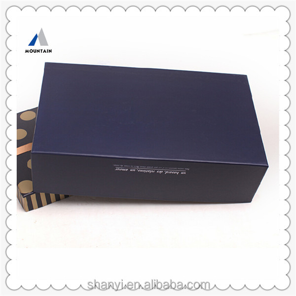 Mountain cardboard gift boxes with hinged lid