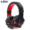 2017 hot selling good quality noise cancelling gaming headset wired headphone factory direct