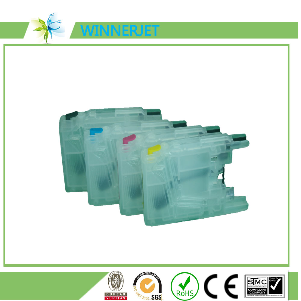 best supplier for customers refill ink cartridge for brother lc1220 lc1240 lc1280 ink cartridge