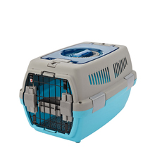 Plastic Cat Load Kennel Pet Airline Crate For Dog/Cat