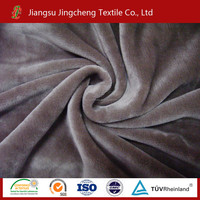 Tela de manta super soft solid color 100% polyester polyester para mantas fabric flannel fabric JC005